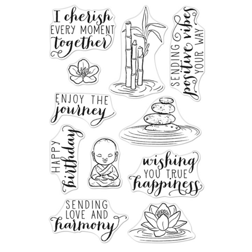 Hero Arts Clear Stamps TRANQUILLITY CM442 Preview Image