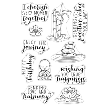 Hero Arts Clear Stamps TRANQUILLITY CM442