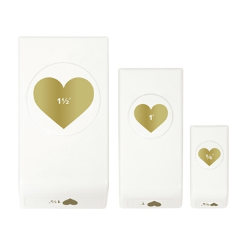 We R Memory Keepers HEARTS Layered Punch Set 660308
