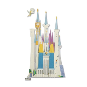 EK Success CASTLE DISNEY DIMENSIONAL STICKER DJBV04*