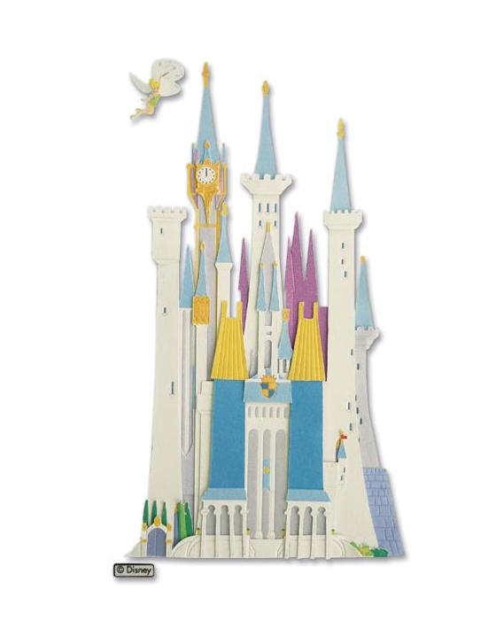EK Success CASTLE DISNEY DIMENSIONAL STICKER DJBV04* zoom image