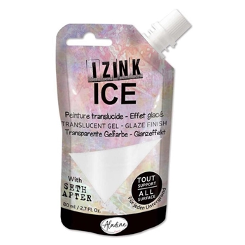 Aladine IZINK ICE SNOWBALL Glaze Finish 80384