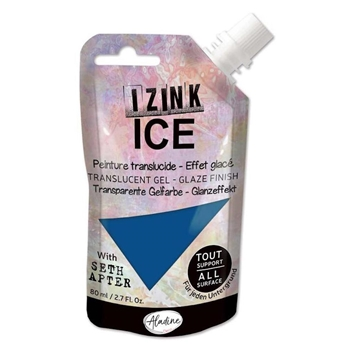Aladine IZINK ICE CRYSTAL WATERS Glaze Finish 80377