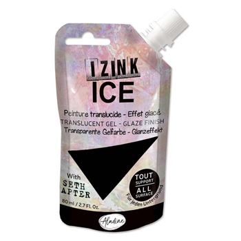 Aladine IZINK ICE WINTER'S NIGHT Glaze Finish 80382