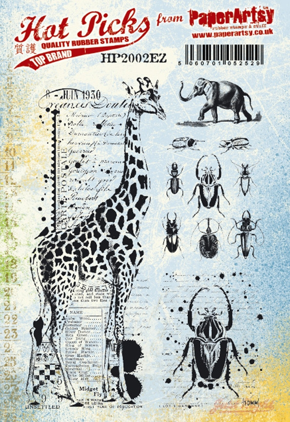 Paper Artsy HOT PICK 2002 Cling Stamps hp2002ez zoom image