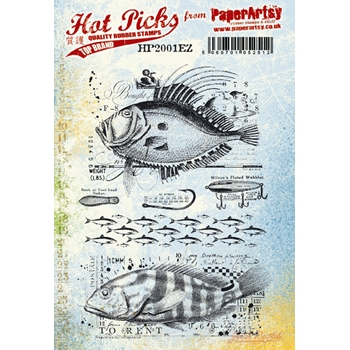 Paper Artsy HOT PICK 2001 Cling Stamps hp2001ez