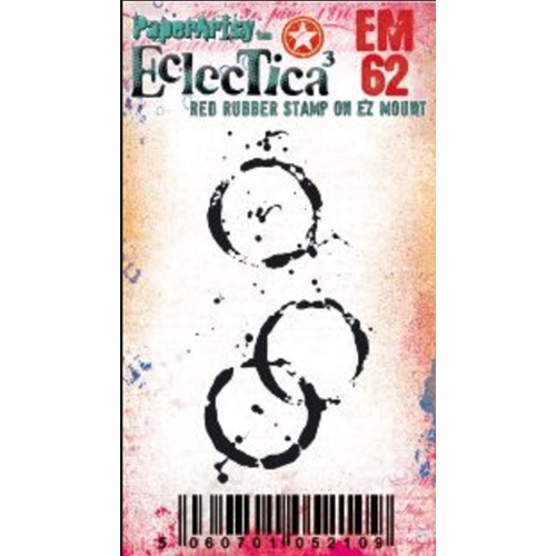 Paper Artsy ECLECTICA3 TRACY SCOTT MINI 62 Cling Stamp em62 Preview Image