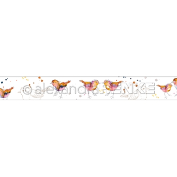 Alexandra Renke WATERCOLOR BIRDS Washi Tape wtarti0024