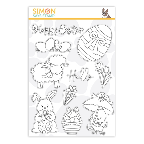 Simon Says Clear Stamps HELLO EASTER sss202122 Lucky To Know You Preview Image