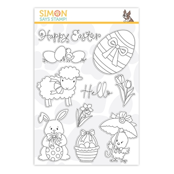 Simon Says Clear Stamps HELLO EASTER sss202122 Lucky To Know You