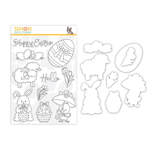 Simon Says Stamps And Dies HELLO EASTER set378he Lucky To Know You Preview Image