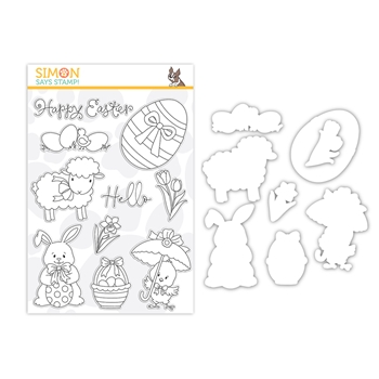 Simon Says Stamps And Dies HELLO EASTER set378he Lucky To Know You