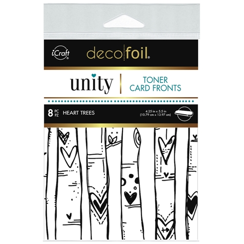 Therm O Web Unity HEART TREES DecoFoil Toner Card Fronts 19049 Preview Image