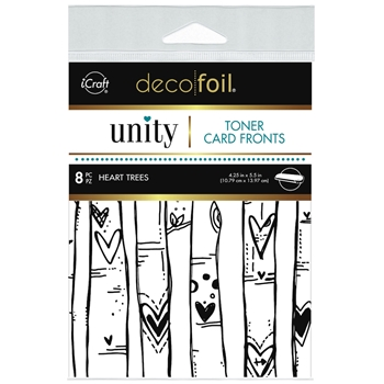 Therm O Web Unity HEART TREES DecoFoil Toner Card Fronts 19049