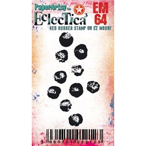Paper Artsy ECLECTICA3 TRACY SCOTT MINI 64 Cling Stamp em64 Preview Image