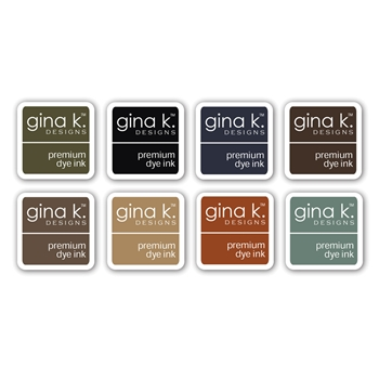 Gina K Designs NEUTRAL Premium Dye Ink Cube Assortment 8356
