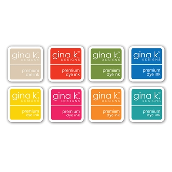 Gina K Designs SUMMER Premium Dye Ink Cube Collection 8363