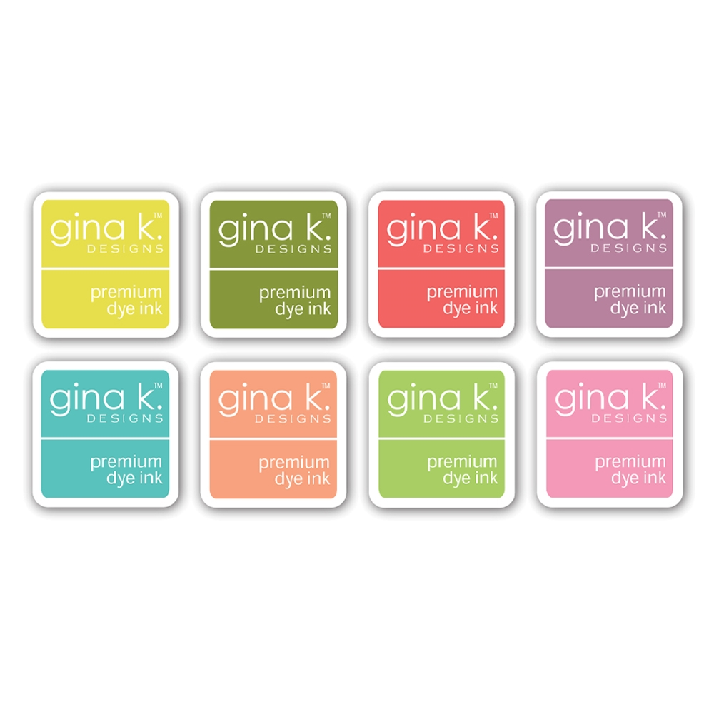 Gina K Designs SPRING Premium Dye Ink Cube Assortment 8349 zoom image