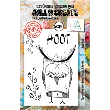 AALL & Create HOOT HOOT Clear Stamps aal00305