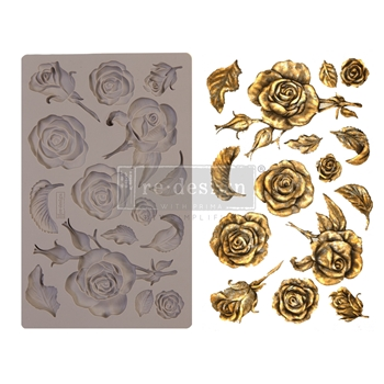 Prima Marketing FRAGRANT ROSES ReDesign Decor Mould 644901