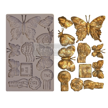 Prima Marketing BUTTERFLY IN FLIGHT ReDesign Decor Mould 643140