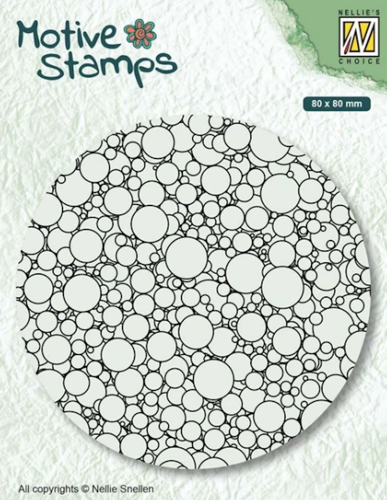 Nellie's Choice BUBBLES Texture Clear Stamp txcs013 zoom image