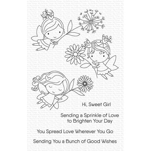 My Favorite Things FLOWER FAIRIES Clear Stamps cs454 Preview Image