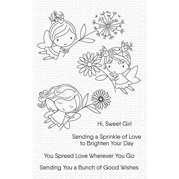 My Favorite Things FLOWER FAIRIES Clear Stamps cs454