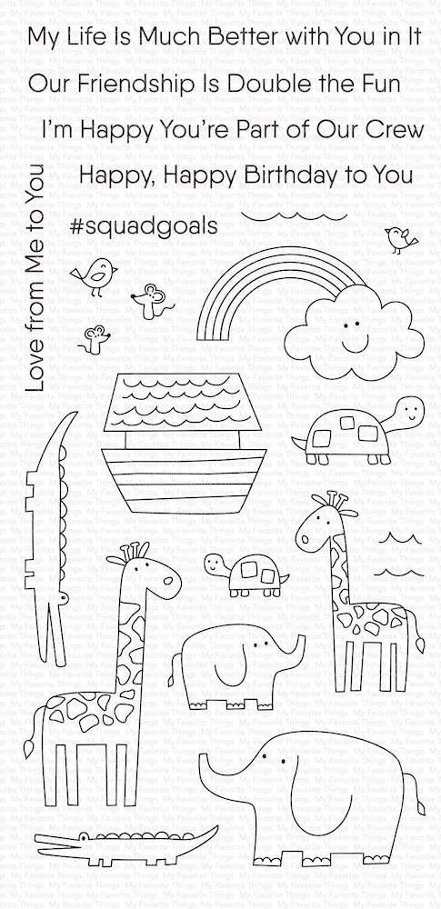 My Favorite Things DOUBLE THE FUN Clear Stamps cs469 zoom image