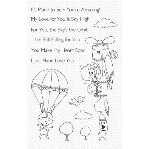 My Favorite Things SKY HIGH Clear Stamps sy19 Preview Image