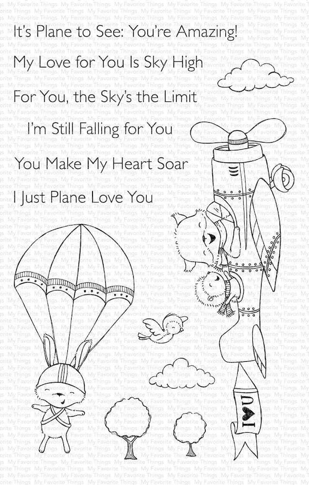 My Favorite Things SKY HIGH Clear Stamps sy19 zoom image