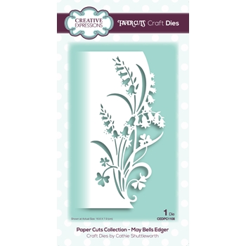 Creative Expressions MAY BELLS EDGER Paper Cuts Collection Dies cedpc1108