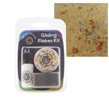 Cosmic Shimmer EGYPTIAN GOLD Gilding Flakes Kit csgfkegypt