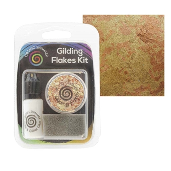 Cosmic Shimmer WARM SUNRISE Gilding Flakes Kit csgfkwarm