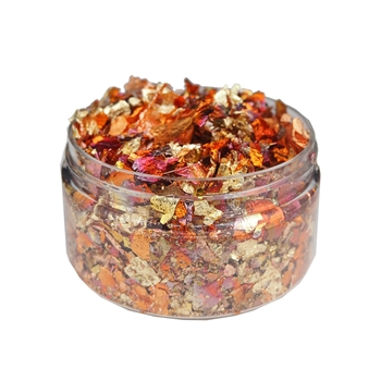 Cosmic Shimmer RED BLAZE Gilding Flakes csgfsmred
