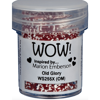 WOW Embossing Powder OLD GLORY WS255X