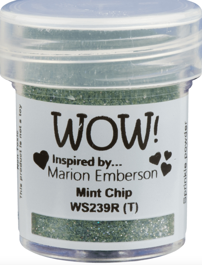 WOW Embossing Powder MINT CHIP WS239R zoom image