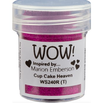 WOW Embossing Powder CUP CAKE HEAVEN WS240R