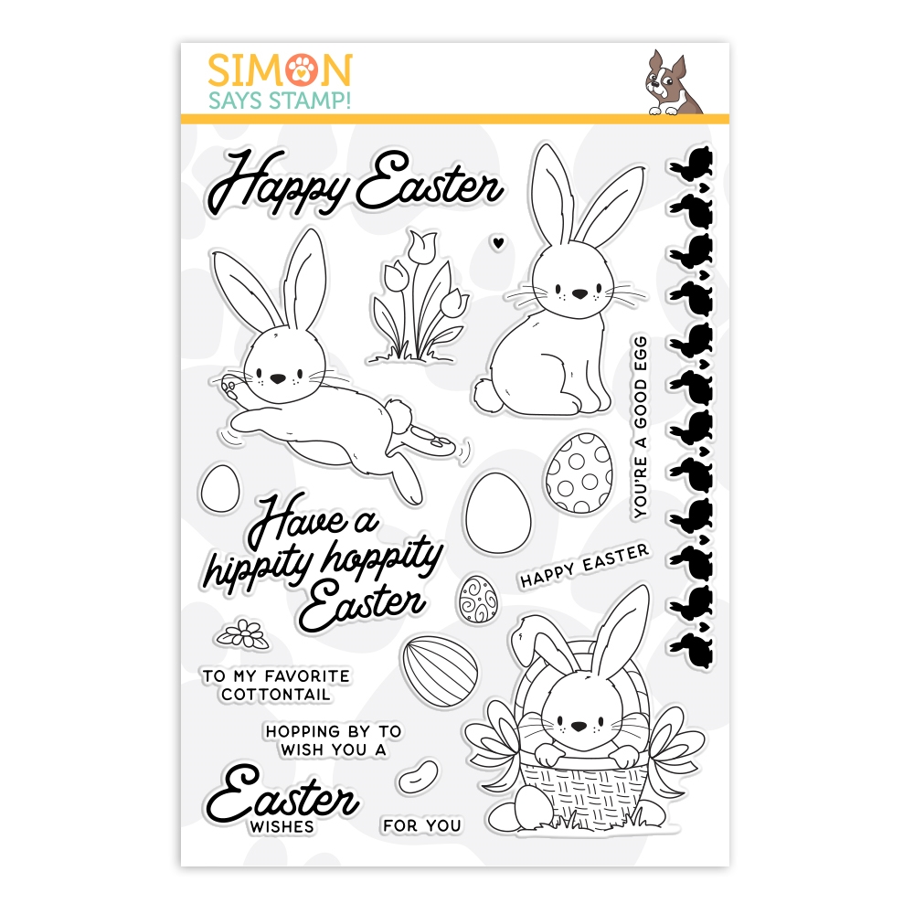 Simon Says Clear Stamps COTTONTAIL WISHES sss202133 zoom image