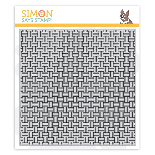 Simon Says Cling Stamp BASKET WEAVE sss102130 Preview Image