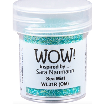 WOW Embossing Powder SEA MIST WL31R