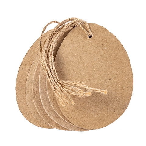 Darice PAPER MACHE EGG TAGS 6 Piece 30086356 Preview Image