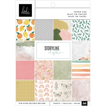Heidi Swapp Storyline Chapters 6x8 inch paper pad 315332