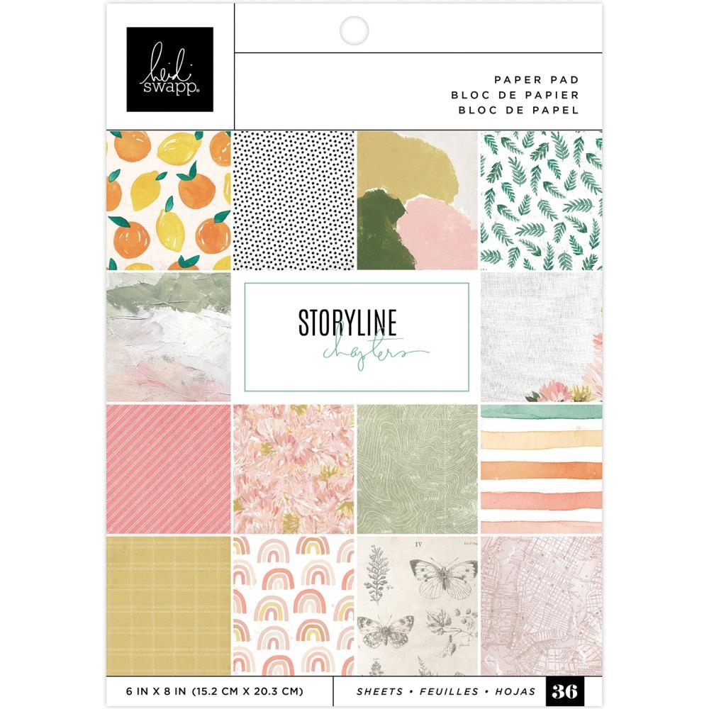 Heidi Swapp Storyline Chapters 6x8 inch paper pad 315332 zoom image