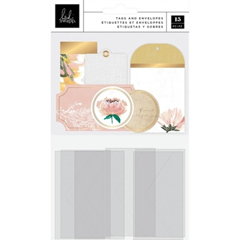 Heidi Swapp TAGS AND ENVELOPES Embellishments 315339