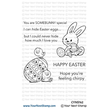 Your Next Stamp EASTER LOVE Clear cyns762