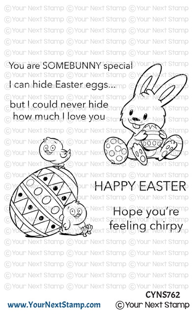 Your Next Stamp EASTER LOVE Clear cyns762 zoom image