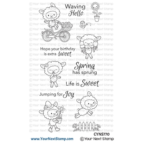 Your Next Stamp LIFE IS SWEET Clear cyns770 Preview Image