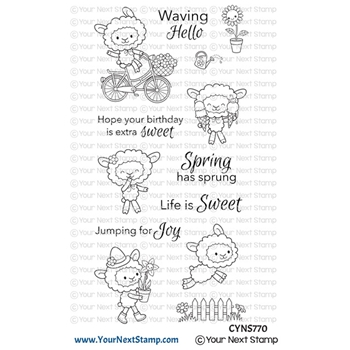 Your Next Stamp LIFE IS SWEET Clear cyns770