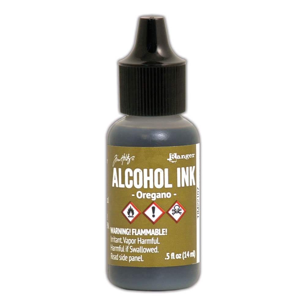 Tim Holtz Alcohol Ink OREGANO Ranger TIM22107 zoom image